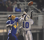 Oxford High's Xavier Pegues (44) vs. Senatobia in high school football in Oxford, Miss. on Friday, September 9, 2011. Oxford won 40-20.