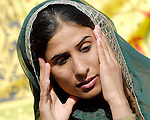 A woman at the Talitha Kumi Center in Lahore, Pakistan. The Center is sponsored by the Church of  Pakistan.