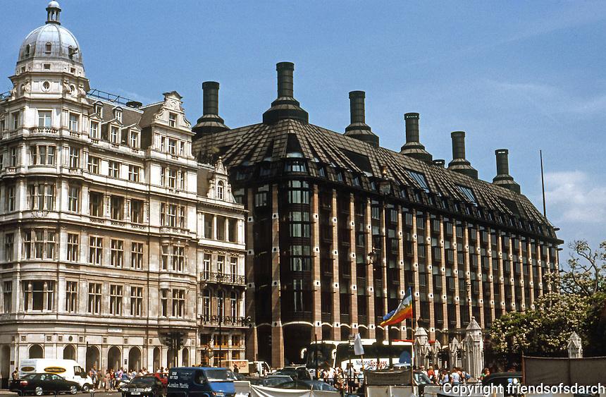 London: Westminster Portcullis House. Michael Hopkins &amp; Partners, 1997-2000.<br /> Photo '05.