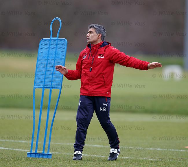 Assistant manager Helder Baptista