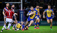 Picture by Alex Whitehead/SWpix.com - 17/03/2017 - Rugby League - Betfred Super League - Leeds Rhinos v Wakefield Trinity - Headingley Carnegie Stadium, Leeds, England - Leeds' Adam Cuthbertson makes a break.