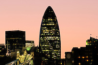 30 St. Mary Axe Building, City, London, Great Britain, UK