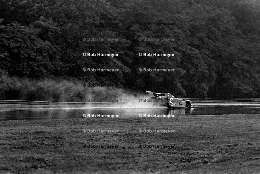 LEXINGTON, OH - AUGUST 26: Bobby Rahal and Brian Redman drove Tony Cicale's Ralt to victory in a heavy rain at the  Lumbermens 500 North American Sports Car Championship at the Mid-Ohio Sports Car Course near Lexington, Ohio, on August 26, 1979.