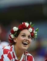 Fussball EURO 2012: Kroatien - Spanien