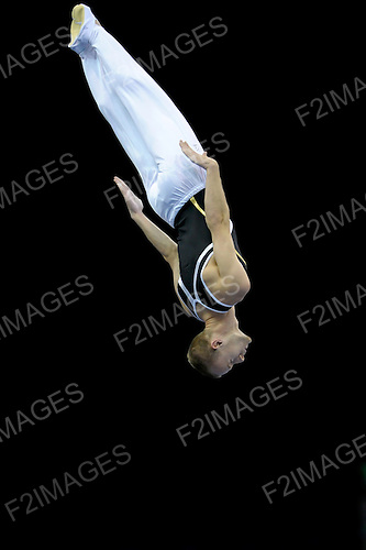 23.07.2011 British Trampoline Tumbling and DMT Championships from the NIA in Birmingham. Jack Helm  in action from the City of Liverpool