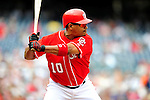 5 July 2009: Washington Nationals' second baseman Ronnie Belliard in action against the Atlanta Braves at Nationals Park in Washington, DC. The Nationals defeated the Braves 5-3 to take the rubber game of their 3-game weekend series. Mandatory Credit: Ed Wolfstein Photo