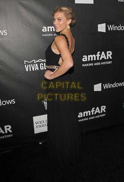 29 October 2014 - Hollywood, California - Katee Sackhoff. amfAR LA Inspiration Gala Honoring Tom Ford Hosted by Gwyneth Paltrow at Milk Studios.  <br /> CAP/ADM/FS<br /> &copy;Faye Sadou/AdMedia/Capital Pictures