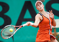 Alize Cornet (FRA) (21)  aganst Sorana Cirstea (ROU) in the second round of the Women's Singles. Cirstea beat Cornet 6-3 6-2..Tennis - French Open - Day 5 - Wed 28th May 2009 - Roland Garros - Paris - France..Frey Images, Barry House, 20-22 Worple Road, London, SW19 4DH.Tel - +44 20 8947 0100.Cell - +44 7843 383 012