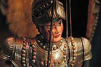 One of Cuticchio puppet knight..Uno dei tipici pupi siciliani creati da Mimmo Cuticchio