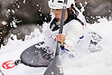 Moe Kaifuchi (JPN), APRIL 15, 2012 - Canoeing : 2012 Canoeing NHK Cup Slalom Competitions, Women's Kayak Single race final at Ida River, Toyama, Japan. (Photo by Yusuke Nakanishi/AFLO SPORT) [1090]