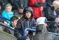 A Bolton Wanderers fan waits for the match to get under way <br /> <br /> Photographer Alex Dodd/CameraSport<br /> <br /> The EFL Sky Bet League One - Bolton Wanderers v Northampton Town - Saturday 18th March 2017 - Macron Stadium - Bolton<br /> <br /> World Copyright &copy; 2017 CameraSport. All rights reserved. 43 Linden Ave. Countesthorpe. Leicester. England. LE8 5PG - Tel: +44 (0) 116 277 4147 - admin@camerasport.com - www.camerasport.com