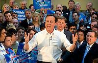 04/05/2010 David Cameron in Glasgow
