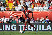 Jermaine Jones (13) of the United States. The men's national team of Spain (ESP) defeated the United States (USA) 4-0 during a International friendly at Gillette Stadium in Foxborough, MA, on June 04, 2011.