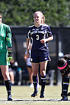 23 October 2016: Notre Dame's Natalie Ward. The Wake Forest University Demon Deacons hosted the University of Notre Dame Fighting Irish at Spry Stadium in Winston-Salem, North Carolina in a 2016 NCAA Division I Women's Soccer match. Notre Dame won the game 1-0.
