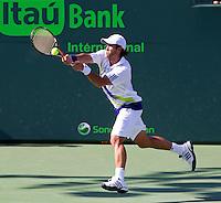 Fernando Verdasco (ESP) in the quarter finals of the men's singles. Tomas Berdych beat Fernando Verdasco 4-6 7-6 6-4..International Tennis - 2010 ATP World Tour - Sony Ericsson Open - Crandon Park Tennis Center - Key Biscayne - Miami - Florida - USA - Thu 1 Apr 2010..© Frey - Amn Images, Level 1, Barry House, 20-22 Worple Road, London, SW19 4DH, UK .Tel - +44 20 8947 0100.Fax -+44 20 8947 0117
