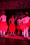 With its origins in nineteenth century music hall entertainments and vaudeville, in the early twentieth century burlesque emerged as a populist blend of satire, performance art, and adult entertainment, that featured strip tease and broad comedy acts that derived their name from the low comedy aspects of the literary genre known as burlesque.....In burlesque, performers, usually female, often create elaborate sets with lush, colorful costumes, mood-appropriate music, and dramatic lighting, and may even include novelty acts, such as fire-breathing or demonstrations of unusual flexibility, to enhance the impact of their performance.....