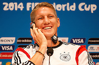 Bastian Schweinsteiger of Germany during the press conference