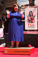 Melissa McCarthy<br /> at the Melissa McCarthy Hand and Foot Print Ceremony, TCL Chinese Theater, Hollywood, CA 07-02-14<br /> David Edwards/DailyCeleb.com 818-249-4998