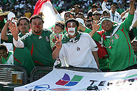 Mexico fans. Mexico defeated Nicaragua 2-0 during the First Round of the 2009 CONCACAF Gold Cup at the Oakland, Coliseum in Oakland, California on July 5, 2009.