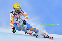 February 17, 2017: Maarten MEINERS (NED) competing in the men's giant slalom event at the FIS Alpine World Ski Championships at St Moritz, Switzerland. Photo Sydney Low