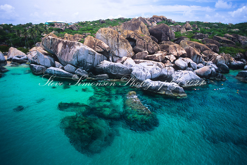 Aerial View of The Baths<br />