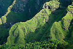 """Green eroded volcanoes near Bajawa, Flores, Indonesia, recall Middle Earth. It's little surprise that """"hobbits"""" (a.k.a., Homo floresiensis) hailed from here."""