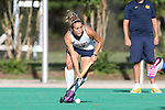 26 September 2014: California's Andrea Earle. The Duke University Blue Devils hosted the University of California Bears at Jack Katz Stadium in Durham, North Carolina in a 2014 NCAA Division I Field Hockey match. Duke won the game 2-0.