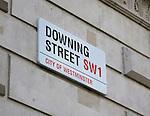 Downing Street, SW1, London, UK