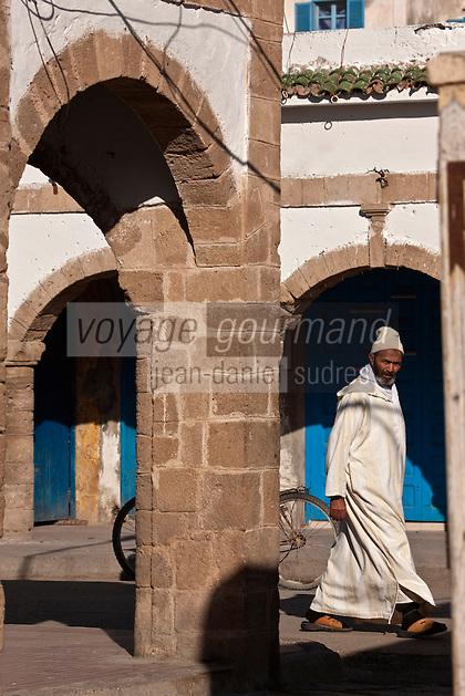 Afrique/Afrique du Nord/Maroc/Essaouira: Scène de rue de la médina - prés de la place au grain