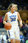 22 February 2013: Duke's Tricia Liston. The Duke University Blue Devils played the Florida State University Seminoles at Cameron Indoor Stadium in Durham, North Carolina in a 2012-2013 NCAA Division I and Atlantic Coast Conference women's college basketball game. Duke won the game 61-50.