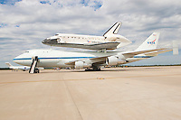 2012 Space Shuttle Discovery Landing - Dulles Airport