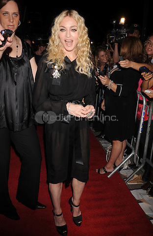 """Madonna at the Screening of """"Filth and Wisdom"""" hosted by The Cinema Society and Dolce and Gabbana. Landmark Sunshine Theatre, New York City. October 13, 2008.. Credit: Dennis Van Tine/MediaPunch"""