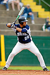 18 May 2006: Joel Barrett,  a University of Maine Junior from Brewer, ME, at bat during a game against the University of Vermont Catamounts, at Historic Centennial Field, in Burlington, Vermont...Mandatory Photo Credit: Ed Wolfstein Photo..