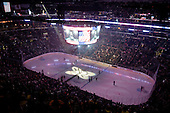 Vien on Staples Center during ice-hockey match between Los Angeles Kings and Colorado Avalanche in NHL league, Februar 26, 2011 at Staples Center, Los Angeles, USA. (Photo By Matic Klansek Velej / Sportida.com)