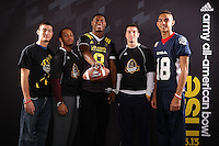 SAN ANTONIO, TX - JANUARY 3, 2013: The 2013 Army All-American Bowl Kickoff Party. (Photo by Jeff Huehn)