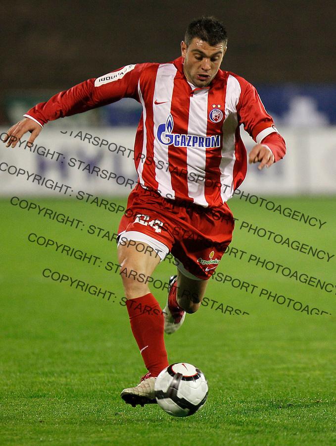Fudbal, Lav Kup Srbije, sezona 2010/2011.Crvena Zvezda Vs. Borac (Cacak).Pavle Ninkov.Beograd, 27.09.2010..foto: Srdjan Stevanovic/Starsportphoto ©