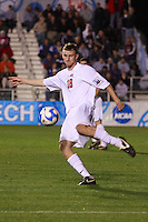 Ohio State Buckeyes defender Tim Gabel (18) during an NCAA College Cup semi-final match at SAS Stadium in Cary, NC on December 14, 2007. Ohio State defeated Massachusetts 1-0.