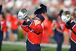 The Ole Miss band at Vaught-Hemingway Stadium in Oxford, Miss. on Saturday, September 1, 2012.