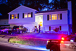 Waterbury, CT- 20 May 2017-052017CM01- Police investigate a death scene at the home of 22 Arbutus Road in Waterbury on Saturday.   Christopher Massa Republican-American