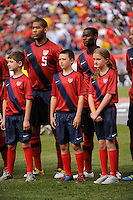 USA vs Spain during a International friendly at Gillette Stadium in Foxborough, MA, on June 04, 2011.