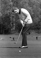 Harry Middleton, professional golfer, Shandon Park Golf Club, Belfast, N Ireland, who emigrated to South Africa in the 1970's. 197305020244c<br />