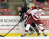 Matt Maher (Bentley - 2), Tommy O'Regan (Harvard - 13) - The Harvard University Crimson defeated the visiting Bentley University Falcons 5-0 on Saturday, October 27, 2012, at Bright Hockey Center in Boston, Massachusetts.