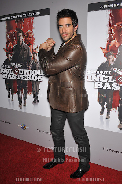 "Eli Roth at the DVD launch of his movie ""Inglourious Basterds"" at the New Beverly Cinema, Los Angeles..December 14, 2009  Los Angeles, CA.Picture: Paul Smith / Featureflash"