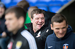 St Johnstone v Kilmarnock&hellip;15.10.16.. McDiarmid Park   SPFL<br />Saints boss Tommy Wright<br />Picture by Graeme Hart.<br />Copyright Perthshire Picture Agency<br />Tel: 01738 623350  Mobile: 07990 594431