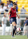 Kate Markgraf, of the United States, during pregame warmups on Saturday, October 23rd, 2005 at Blackbaud Stadium in Charleston, South Carolina. The United States Women's National Team defeated Mexico 3-0 in an international women's friendly soccer match.