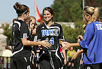 26 October 2008: Duke's Christie McDonald. The Duke University Blue Devils defeated the Clemson University Tigers 6-0 at Koskinen Stadium in Durham, North Carolina in an NCAA Division I Women's college soccer game.