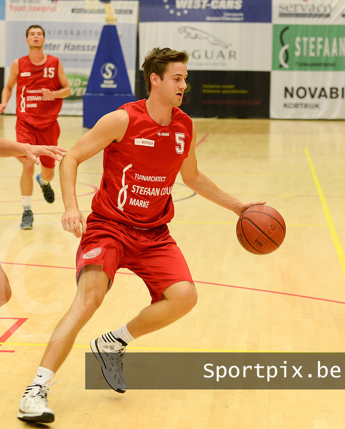 Kortrijk Sport CB : Simon Planckaert <br /> foto VDB / BART VANDENBROUCKE