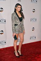 LOS ANGELES, CA - NOVEMBER 20: Nina Dobrev at the 44th Annual American Music Awards at the Microsoft Theatre in Los Angeles, California on November 20, 2016. Credit: Koi Sojer/Snap'N U Photos/MediaPunch