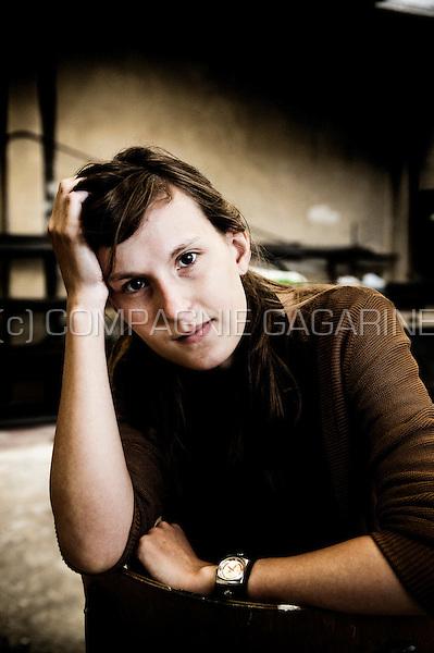 Portrait and serie of jewelry designer Jill Ryckaert and her work (Belgium, 01/06/2010)
