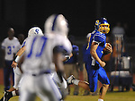 Oxford High's Parker Adamson (3) vs. Senatobia in high school football in Oxford, Miss. on Friday, September 9, 2011. Oxford won 40-20.